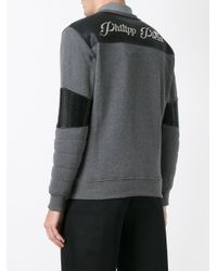 Philipp Plein - Gray United Sweatshirt for Men - Lyst