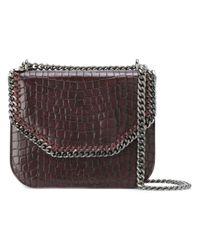 Stella McCartney | Red Medium Falabella Box Shoulder Bag | Lyst