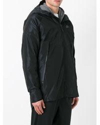 Nike Black - Bonded Parka Jacket - Men - Polyester - L for men