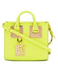 Sophie Hulme - Yellow Double Handles Tote - Lyst