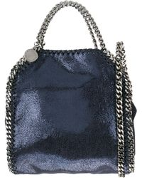 Stella McCartney | Blue - Tiny 'falabella' Tote - Women - Polyurethane/metal (other) - One Size | Lyst