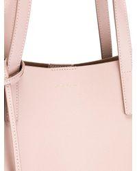 Saint Laurent - Pink Medium Shopper Tote - Lyst