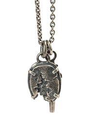 Tobias Wistisen - Metallic Broken Stone Necklace for Men - Lyst