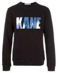 Christopher Kane | Black Printed Sweatshirt for Men | Lyst