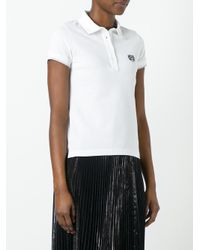 KENZO | White Mini Tiger Polo Shirt | Lyst