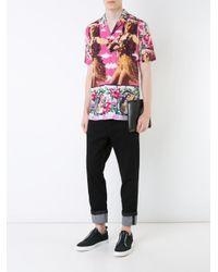 N°21 - Pink Hawaiian Print Shirt for Men - Lyst