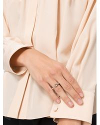 Rosa Maria - Metallic Open Ring - Lyst