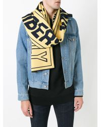 Stella McCartney - Multicolor Members Only Scarf for Men - Lyst