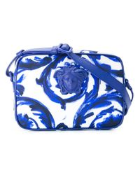 Versace | Blue - Painted Baroque Shoulder Bag - Men - Nylon - One Size | Lyst
