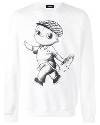 DSquared² | White Baby Punk Sweatshirt for Men | Lyst