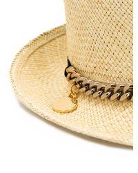 Stella McCartney - Natural Panama Hat - Lyst