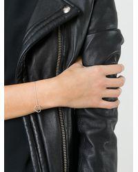 SeeMe - Metallic Small Heart Bracelet - Lyst