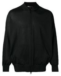 Y-3 | Black Classic Bomber Jacket for Men | Lyst