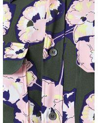 Marni - Green Whisper Print Blouse - Lyst