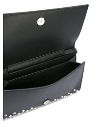 Alexander McQueen - Black Amq Pouch With Strap - Lyst