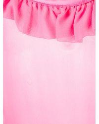 Gilda & Pearl - Pink Bardot Babydoll - Lyst