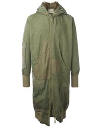 Greg Lauren | Green Flight Studio Coat for Men | Lyst