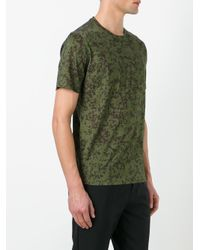 Bally - Green Printed T-shirt for Men - Lyst
