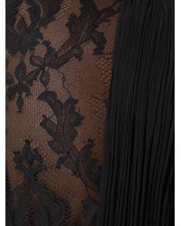 Zuhair Murad | Black Lace Insert Gown | Lyst