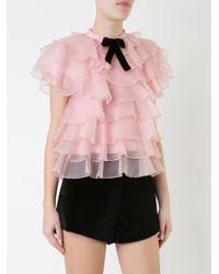 Macgraw | Pink Bon Bon Blouse | Lyst