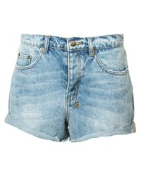 Ksubi | Blue - Denim Shorts - Women - Cotton - 28 | Lyst