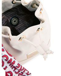 Love Moschino - White Bucket Shoulder Bag - Lyst