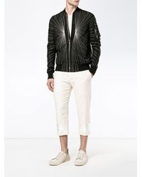 Haider Ackermann - Natural Cropped Trousers for Men - Lyst
