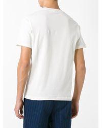 Sunspel - White Crew Neck T-shirt for Men - Lyst