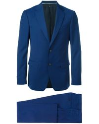Z Zegna - Blue Two-piece Formal Suit for Men - Lyst