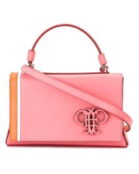 Emilio Pucci | Pink Logo Plaque Cross-body Bag | Lyst