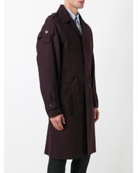 Marni - Black Single Breasted Trenchcoat for Men - Lyst