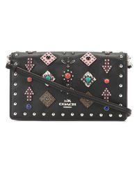 COACH | Black Western Rivet Crossbody Bag | Lyst