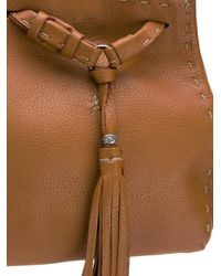 Henry Beguelin - Brown Bucket Shoulder Bag - Lyst
