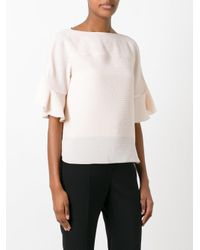 See By Chloé - Multicolor See By Chloé Flared Sleeves Blouse - Lyst
