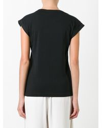Adidas Originals | Black Hu Bf Roll-up T-shirt | Lyst