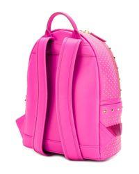 MCM | Pink Stark Backpack | Lyst