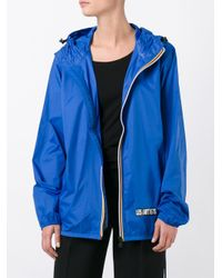 LES (ART)ISTS | Blue Zip Up Jacket | Lyst