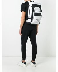 Y-3 - White Ultratech Backpack for Men - Lyst