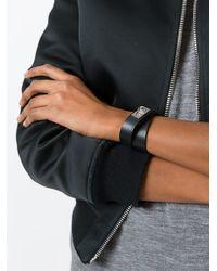 Givenchy - Black Shark Wraparound Bracelet for Men - Lyst