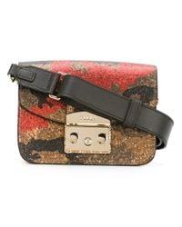 Furla | Multicolor Metropolis Camouflage Shoulder Bag | Lyst