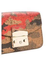 Furla - Multicolor Metropolis Camouflage Shoulder Bag - Lyst