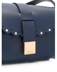 Furla - Blue Barrel Crossbody Bag - Lyst