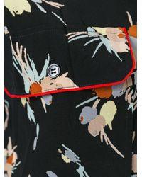 Marni - Black Printed Blouse - Lyst