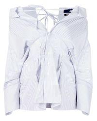 Jacquemus | Blue 'arlesienne' Shirt | Lyst
