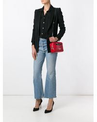 Love Moschino - Red Top Handle Crossbody Bag - Lyst