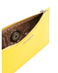 Love Moschino   Yellow Scarf Detail Clutch   Lyst