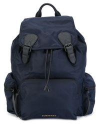 Burberry | Blue 'zaino' Backpack | Lyst