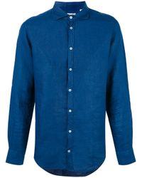 Massimo Alba | Blue Linen Shirt for Men | Lyst