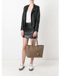Saint Laurent - Brown - Large Shopper Tote - Women - Leather - One Size - Lyst