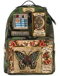 Valentino | Green Garavani Patch Appliqued Backpack for Men | Lyst